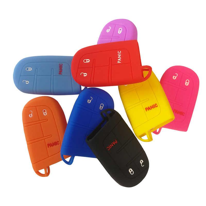 Chìa khóa Nắp Ốp Lưng Vỏ Giá Đỡ Bảo Vệ Cho XE JEEP Cho Chrysler Dodge JCUV Cho Fiat 500X2 + 1 nút Dành Cho Móc Khóa Báo Động