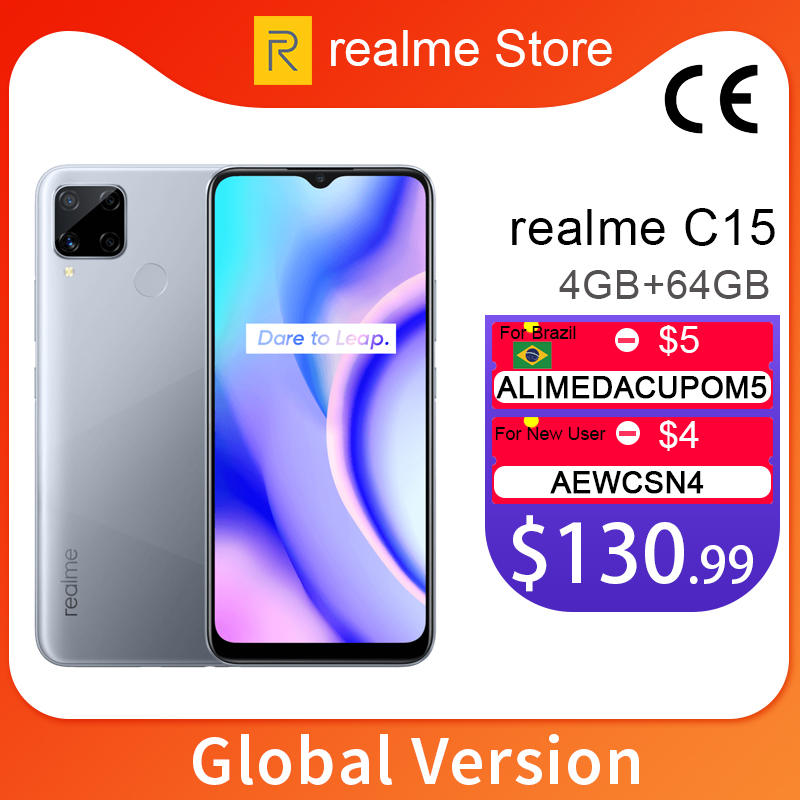 Realme 64GB 4gbb GSM/WCDMA/LTE Adaptive Fast Charge Octa Core Face Recognition/fingerprint Recognition