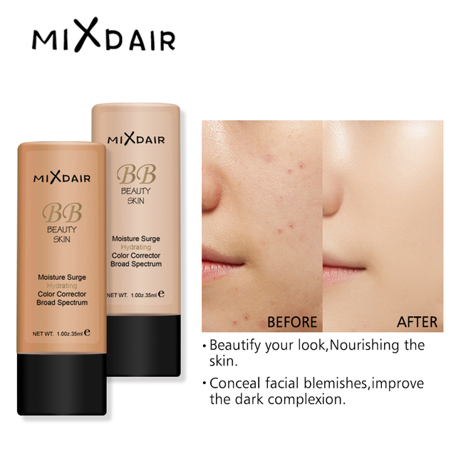 MAXFASFER Primer Makeup  Foundation Liquid  Moisturizer Waterproof Whitening Concealer Brighten matte Long lasting Cosmetic 4