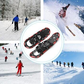 Лыжная обувь для женщин и мужчин, алюминиевая зимняя обувь, женская обувь, лыжные ботинки, регулируемая вязанная сумка для переноски, уличная зимняя обувь, алиэкспресс с бесплатной доставкой на русском языке