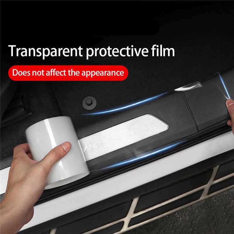DIY Bumper Strip Rubber Edge Guard Car Sticker Door Sill Protector 5D Carbon CC