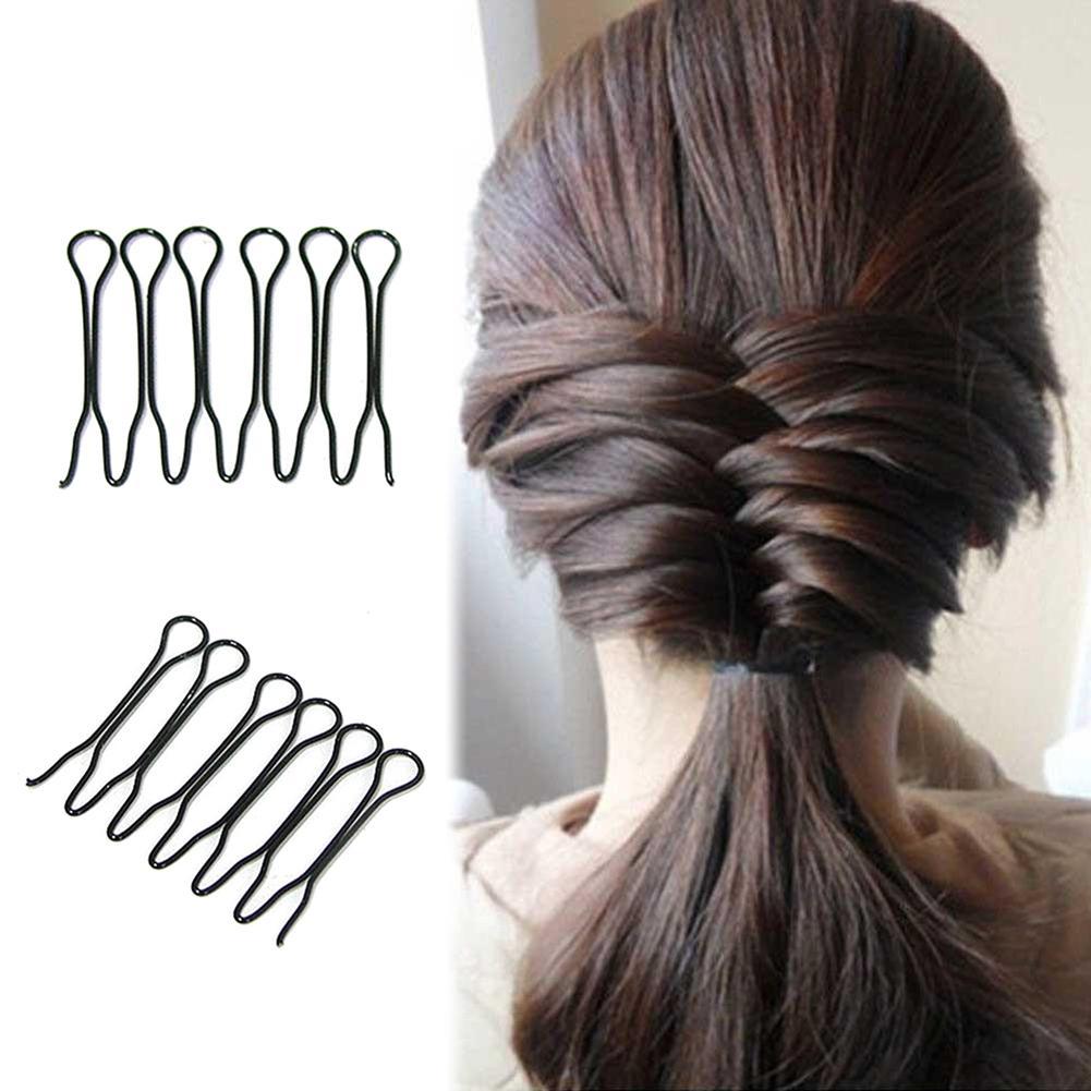 2Pcs Mini Hair Braider Twist Clips Hairdisk DIY Princess Head Bangs Insert Comb Hair Styling Tool Hair Accessories For Women
