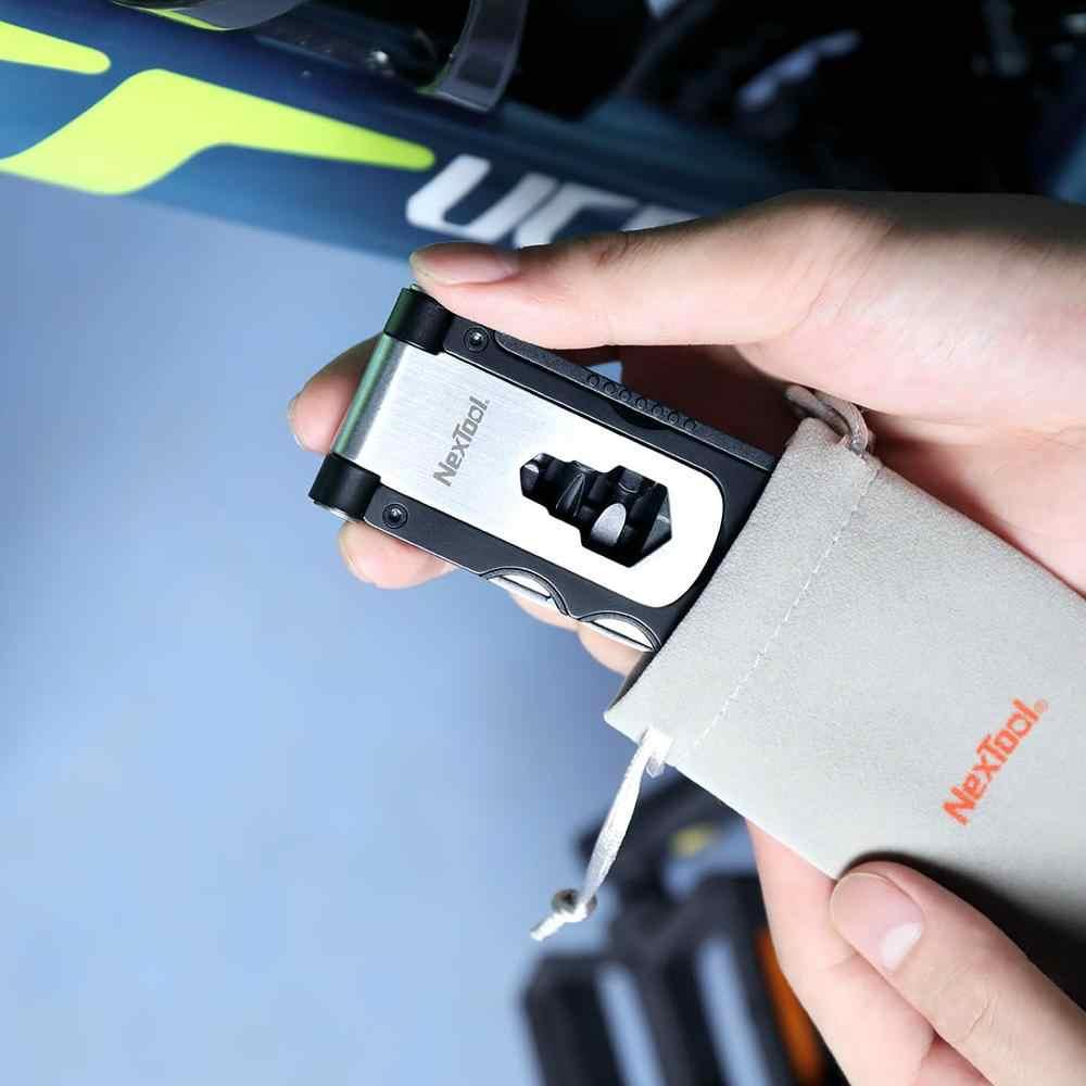 Xiaomi mijia multi-function จักรยานเครื่องมือปิดประแจ spanner ประแจยางช้อน venting หมวกด้านเครื่องมือ