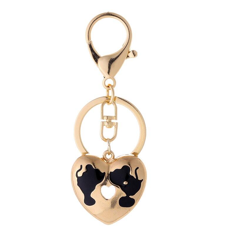 TOGORY, улыбка, мышь, опалы, кристалл, эмаль, сумочка, брелки, брелки для автомобиля, кошелек, сумка, пряжка, брелки, держатель для женщин - Color: KY17