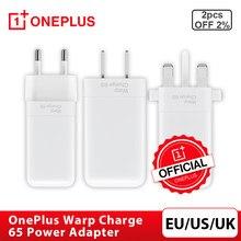 Adaptateur secteur Original OnePlus Warp Charge 65, prise ue US UK pour OnePlus 8T Warp Charge 30 pour OnePlus 8 Pro/8/7T Pro, Charge rapide