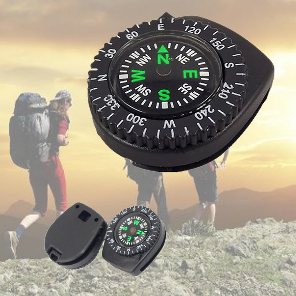 High Quality Wristband Compasses Portable Detachable Watch Band Slip Slide Navigation Wrist NCM99