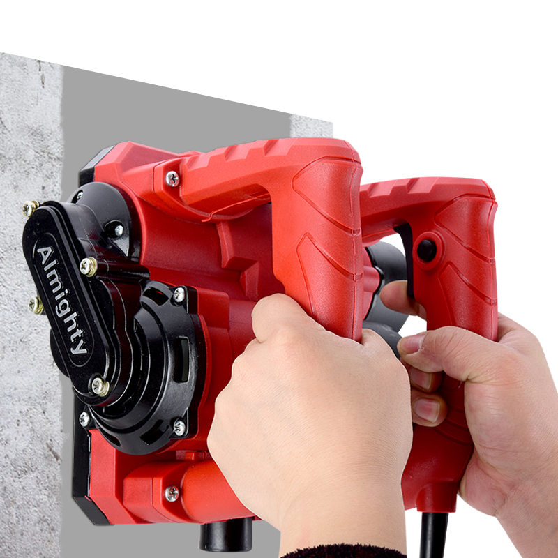 220V Electric Wall Planer Putty Dust-free Concrete Wall Renovation Sshovel Gray Machine Automatic Shovel Wall Tool 1600W