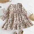 Humor Bear/детская одежда; Платье; Новое милое платье принцессы; Детская одежда; Детские Платья с цветочным принтом; Платье для девочек