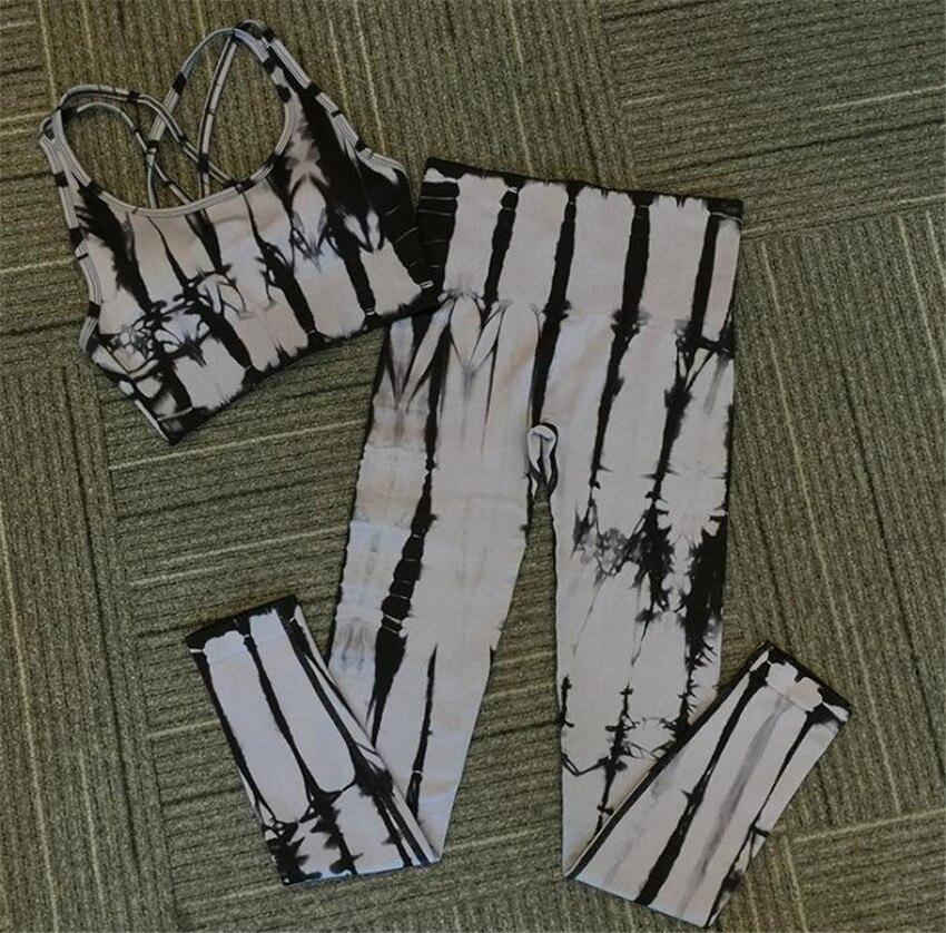 Ternos Emagrecimento Sportswear Roupas de Ginástica Terno Para Yoga Feminino