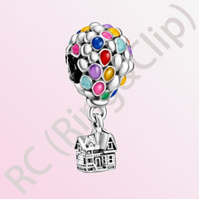 2020 Hot sale 925 Sterling Silver Beads hot air Colorful Balloon Charms fit Original Pandora Bracelets Women DIY Jewelry