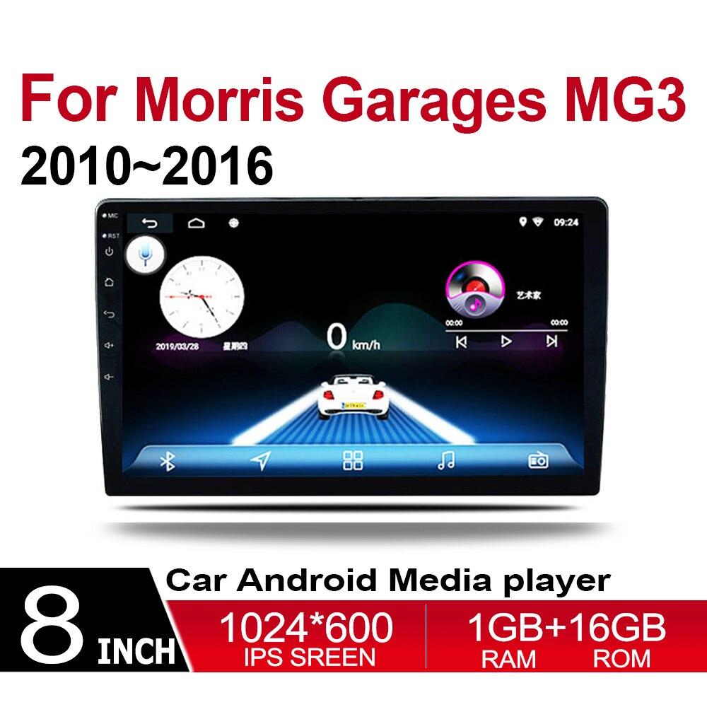 Lecteur dvd de voiture pour Garages Morris MG3 2010 ~ 2016 multimédia GPS Navigation carte Autoradio WiFI Bluetooth