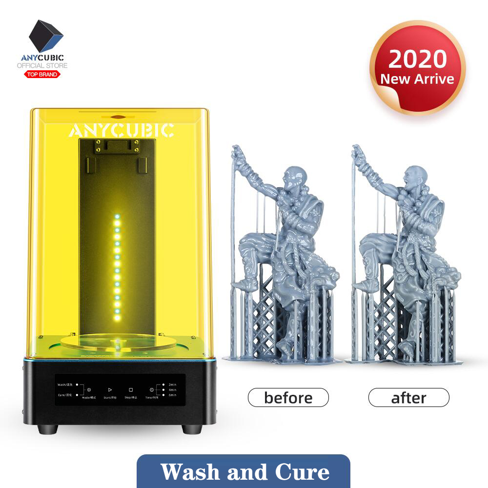 Anycubic Cure-Machine Models 3d-Printer Wash Uv-Resin-Curing And for 2-In-1 title=