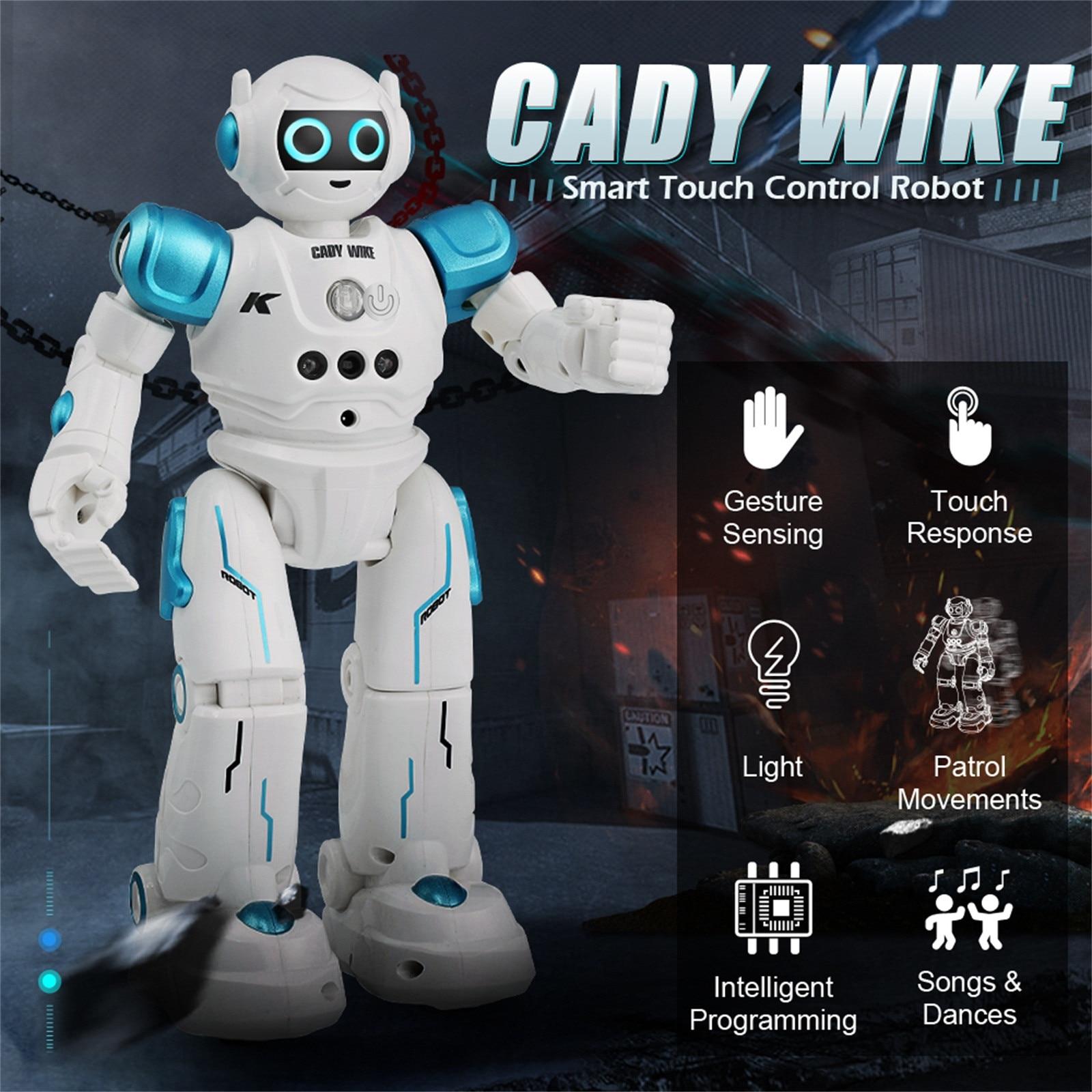 Jjr/c R11 télécommande Robot Usb charge multi-fonction enfants jouet Rc Robot avec chanter danse Action Figure geste capteur