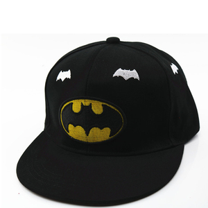Image 2 - 3D haft Iron Man Batman czapki baseballowe dzieci Snapback czapki hip hopowe kapelusze przeciwsłoneczne dla chłopców dziewcząt 2 9 lat gorras