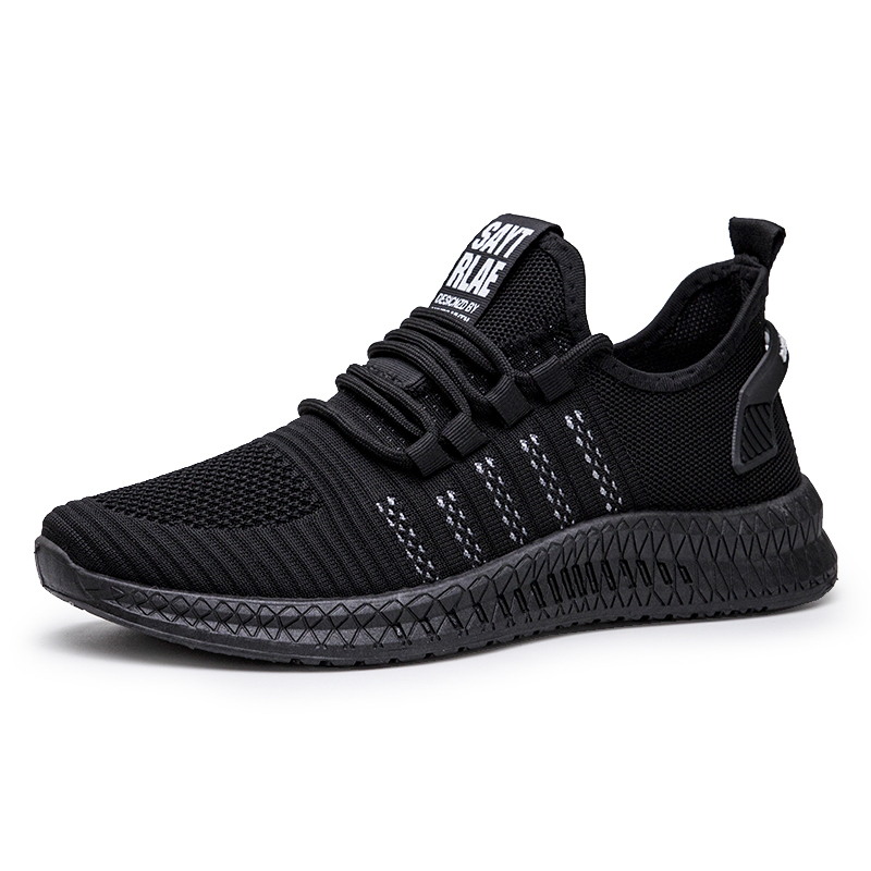 Fashion Sneakers Lightweight Men Casual Shoes Breathable Male Footwear Lace Up Walking Shoe 3