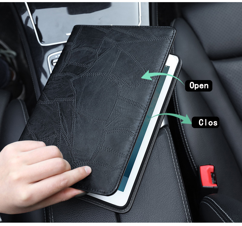 Cover Business Luxury iPad 2019 Case Silicon 10.2 for Smart A2232 For Leather A2200 ipad