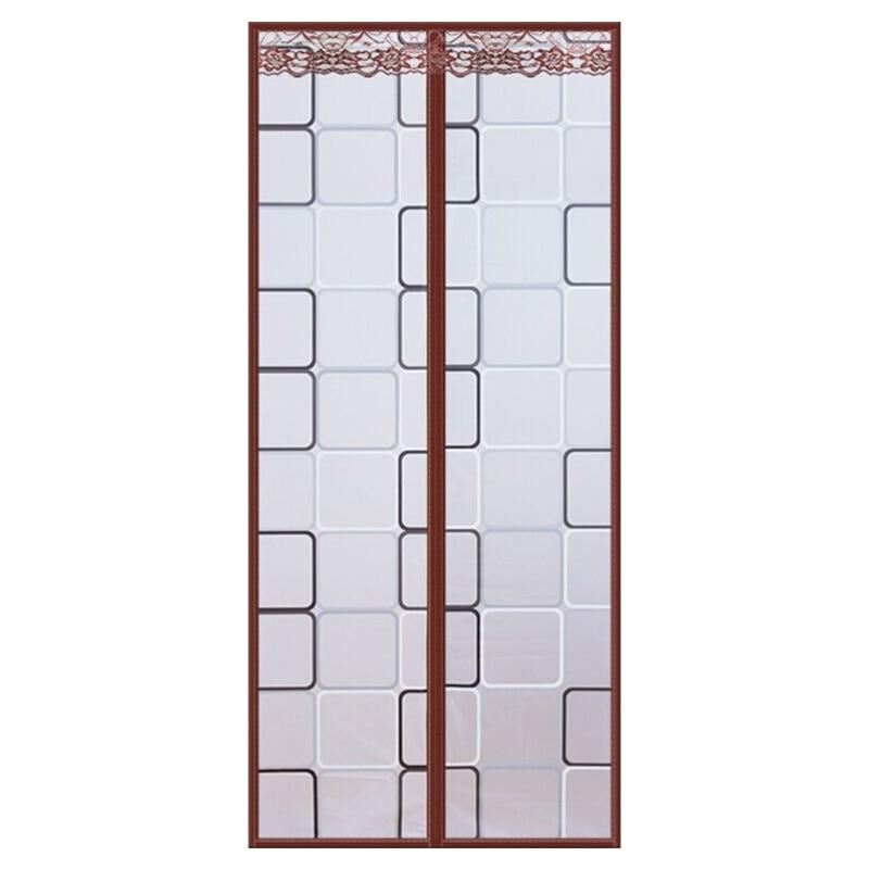 Кондиционер для комнаты/кухни магнитный экран для двери магнитный теплоизолированный сетчатый экран занавес двери - Цвет: I