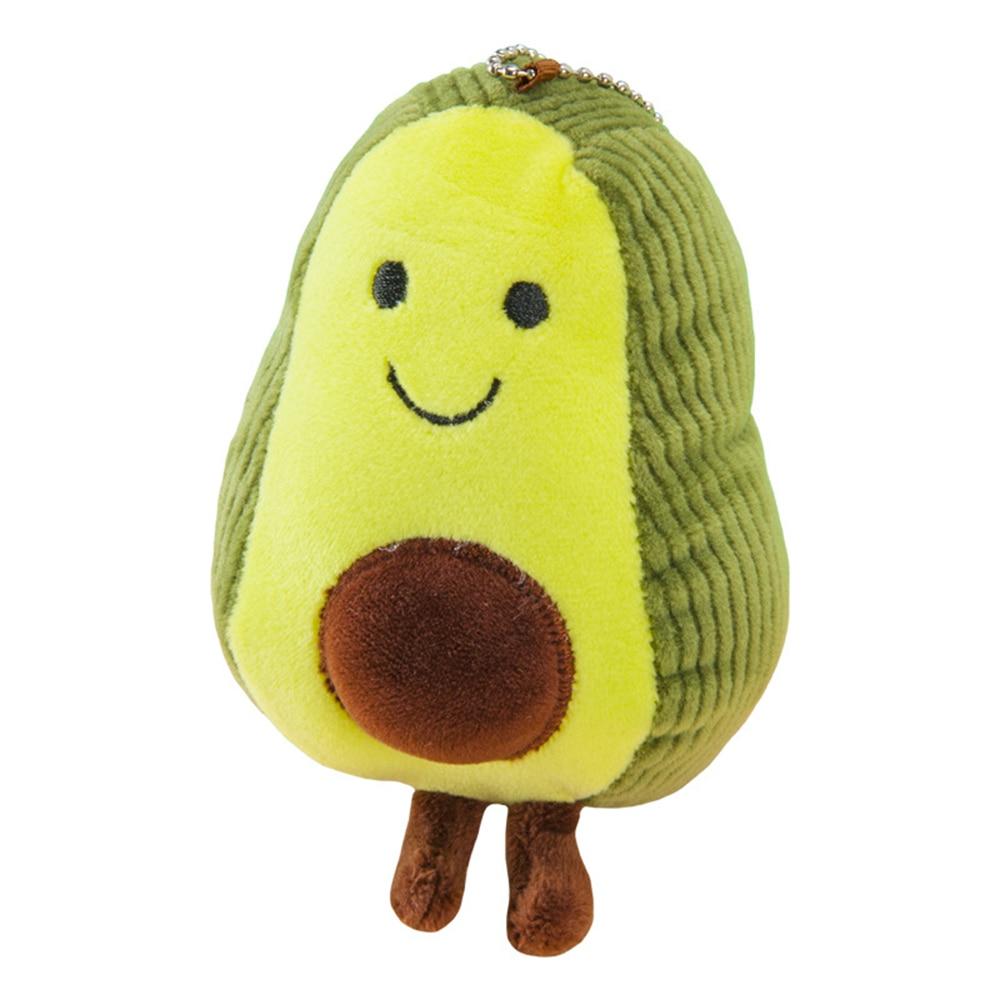 Avocado Doll Pendant Toy Keyring Small Plush Toys Pendant  PP Cotton  Christmas Gift Small Plush Toys For Children Birthday