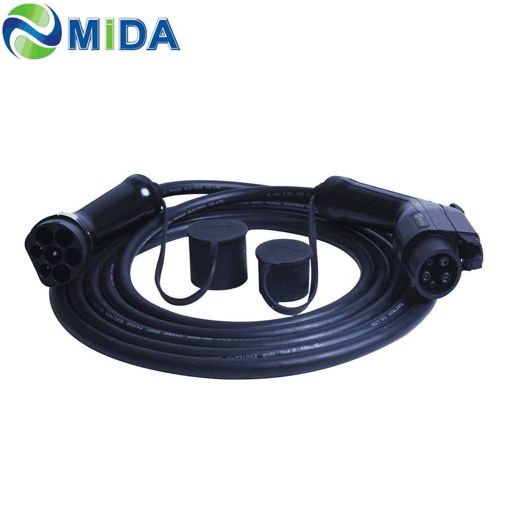 Mitsubishi Compatible Fast Charging Lead Type 1 J1772 32Amp 5m Cable