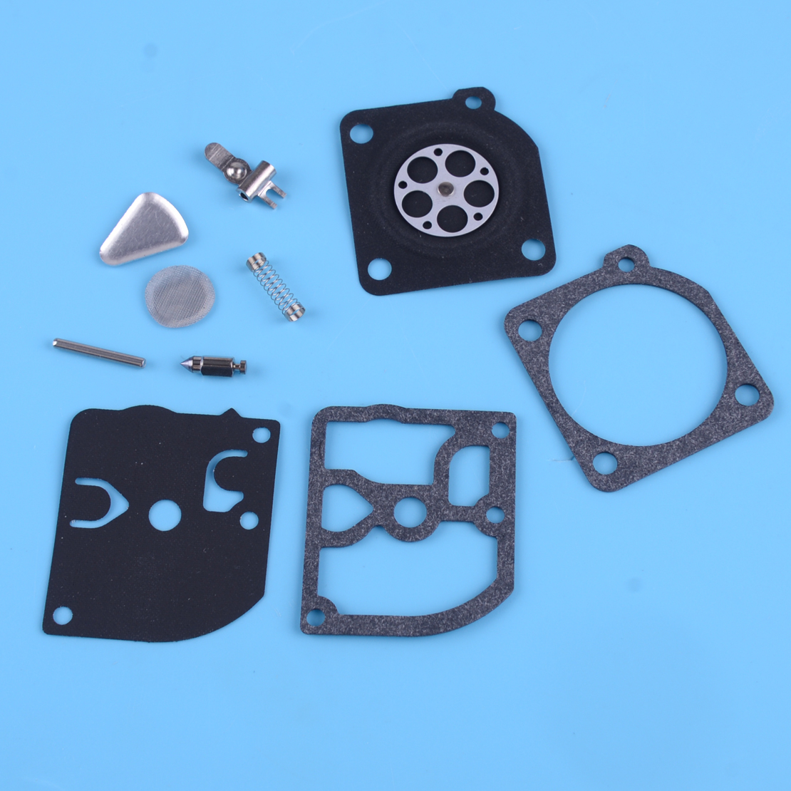 LETAOSK Carburetor Carb Repair Kit Fit For ZAMA RB-45 C1Q EL1 EL10 PARTNER 400 410 Jonsered 2041 2045 Husqvarna Chainsaws 45