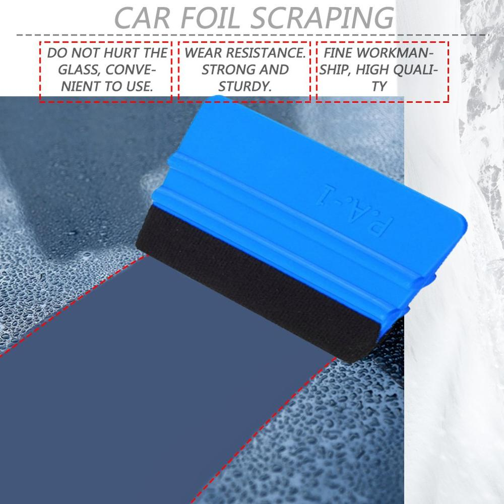 2019 Car Wrapping Tools Vinyl Film Squeegee With Felt Soft Wall Paper Scraper Install Squeegee Tool Hot Selling Drop Shipping