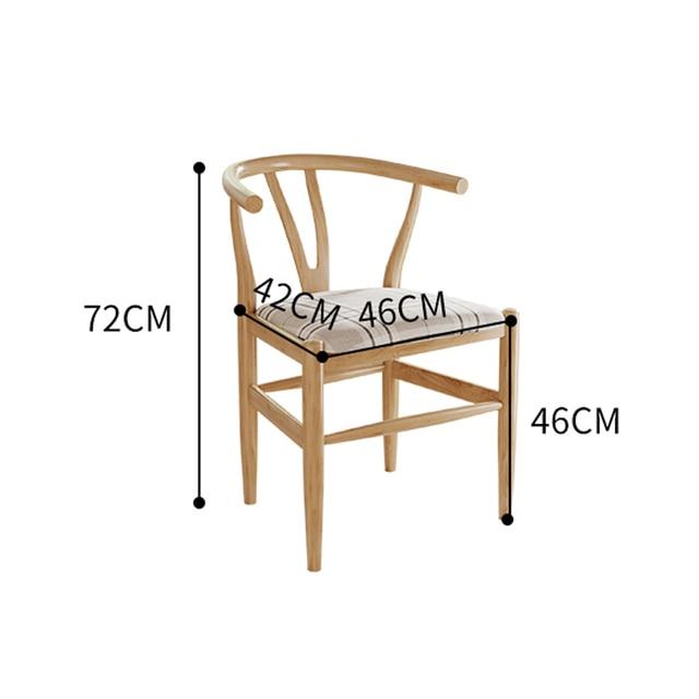 Nordic Modern Minimalist Dining Chair  4
