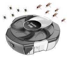 2020 アップグレード電動 flycatcher 害虫昆虫キャッチャー自動 flycatcher 屋外屋内キャプチャ害虫コレクタ usb プラグ
