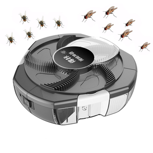 Image 1 - 2020 アップグレード電動 flycatcher 害虫昆虫キャッチャー自動 flycatcher 屋外屋内キャプチャ害虫コレクタ usb プラグ