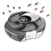 Atrapamoscas eléctrico para plagas, atrapamoscas automático para captura de insectos en interiores y exteriores, con enchufe Usb, 2020
