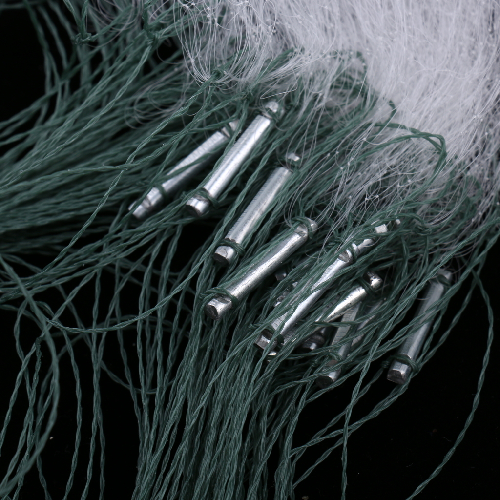 Trammel Fishing Net, 3 Layers Fishing Gill Net, Well Handmade Seine Net Multiple Sizes for Choose