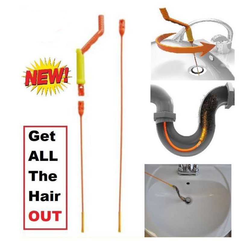Nettoyeurs de vidange pince à cheveux outil de vidange pour la plupart des Drains et grilles | AliExpress