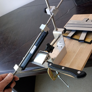 Image 5 - Kme apontador de faca profissional maior grau mais novo portátil 360 graus rotação faca moedor sistema um diamante pedra amolar
