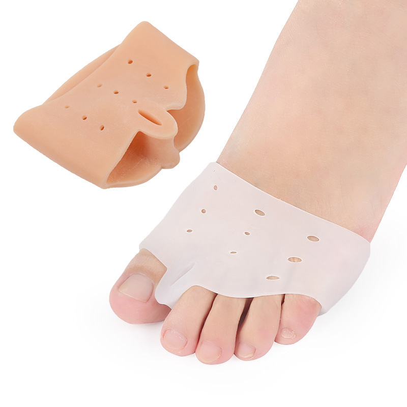 2Pcs New Special Hallux Valgus Bicyclic Thumb Orthopedic Braces To Correct Daily Silicone Toe Big Bone Insoles Shoe Accessories