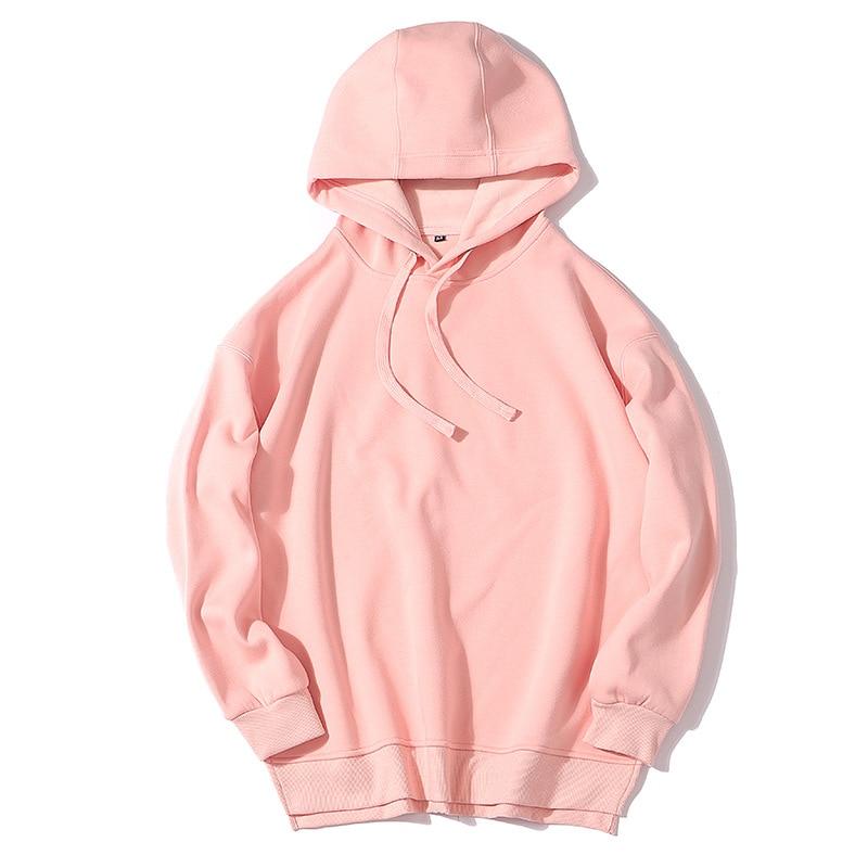 2020 New Hot Sale Ladies Hoodies for Women Fleece Female Winter Solid Colour Casual Sweatshirt 5