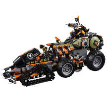 2019 New Ninja Toys Dieselnaut Compatible Legoines Ninjagoing 70654 Building Blocks Figure Bricks for Children Christmas Gift