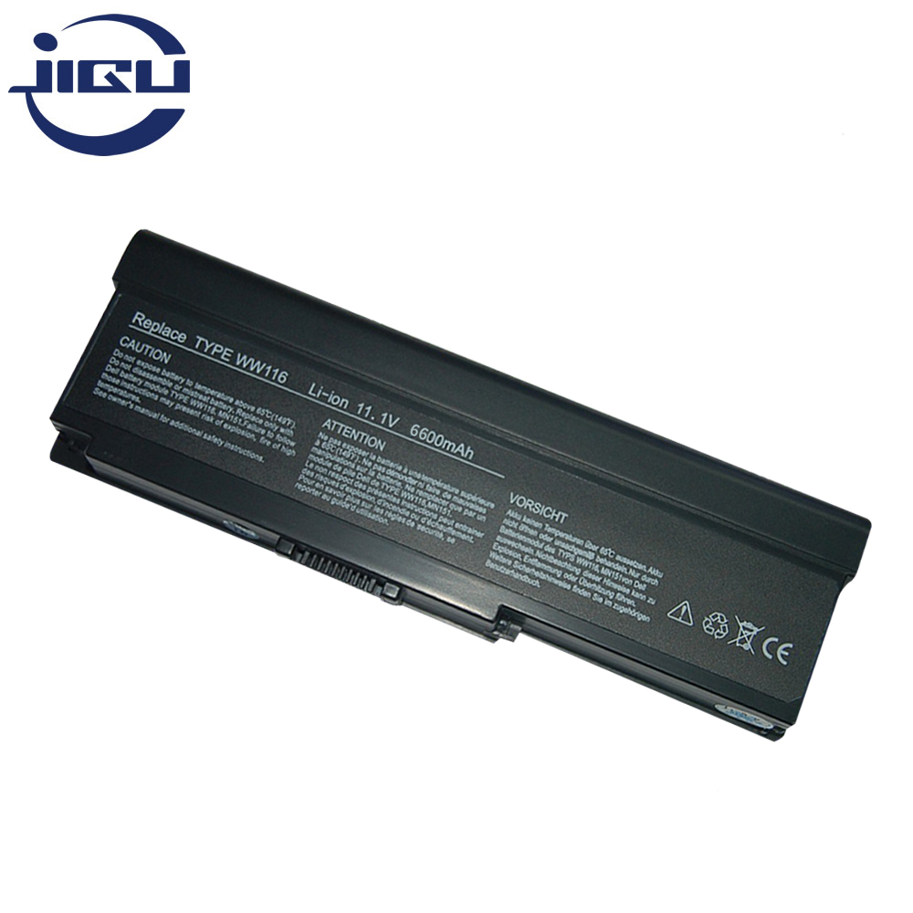 JIGU 6600mah Replacement Laptop <font><b>Battery</b></font> MN151 FT095 451-10517 312-0585 312-0580 WW116 NR433 For <font><b>Inspiron</b></font> <font><b>1420</b></font> Vostro 1400 image