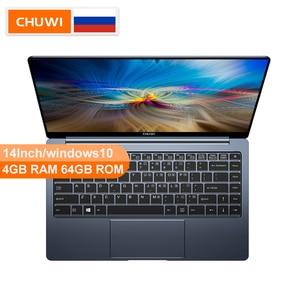CHUWI Оригинальный LapBook Pro 14 дюймов 4 ядра Windows10 intel Gemini-Lake, N4100 4 Гб RAM 64 Гб ROM Micro HDMI 2.0 ноутбук