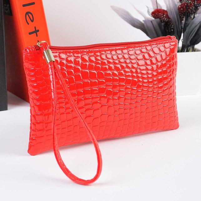H49915508f73049d79d3f1d19e0f61f96X - Women Coin Purse small wallet Crocodile Leather