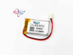 Image 5 - JST XH 2.54mm 802540 3.7V 1000MAH lithium polymer battery 852540 scan code instrument speaker driving apparatus