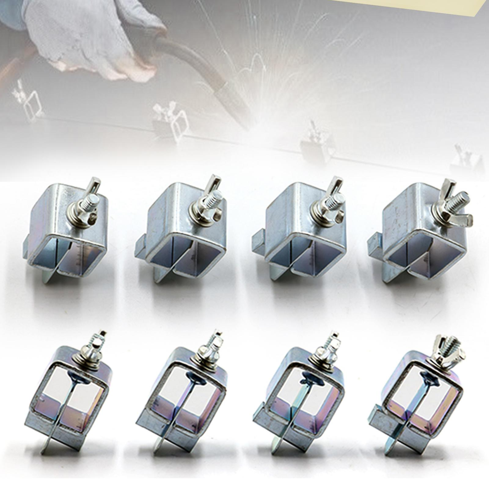 8/12/16Pcs Adjustable Butterfly Welding Positioner Clip Welding Clamps Holder Fixture Positioning Tools Set for Industrial