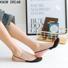 Meias de verão meias de algodão meias de salto alto sapatos de salto alto boca rasa invisível barco meias sapatos meias meias de renda