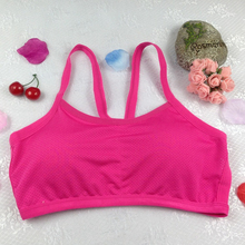Luo Chen Womens sports vest bra wrap chest cross cord top strap without underwire S1554 LC