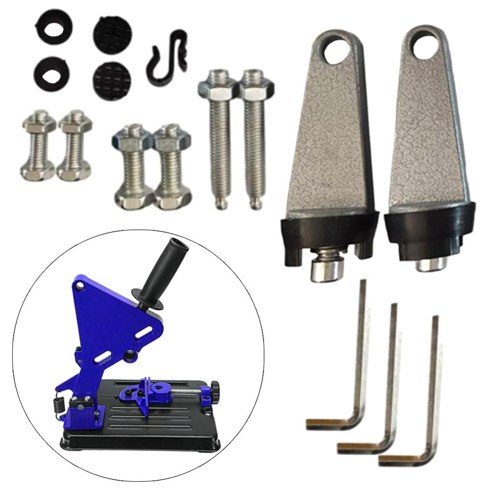 Universal Angle Grinder Stand Bracket Holder Metal Cutting Machine Cutter Support Power Tools Accessories Angle Grinder