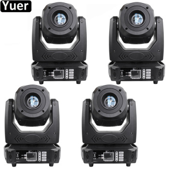 цена на 4Pcs/Lot Beam Spot 2IN1 100W LED Moving Head Light DMX512 Strobe Effect DJ Disco Light Wedding Party Club Moving Head Light