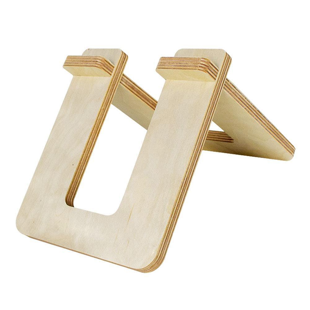 Kid's Balance Bike Stand Holder Wooden Portable Parking Toys For 10