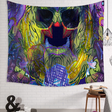 3D Print Novelty Tapestry Art Tapestry Watercolor Wall Carpet Wall Hanging Home Decor Abstract Travel Picnic Tapestry butterfly print home decor wall hanging tapestry