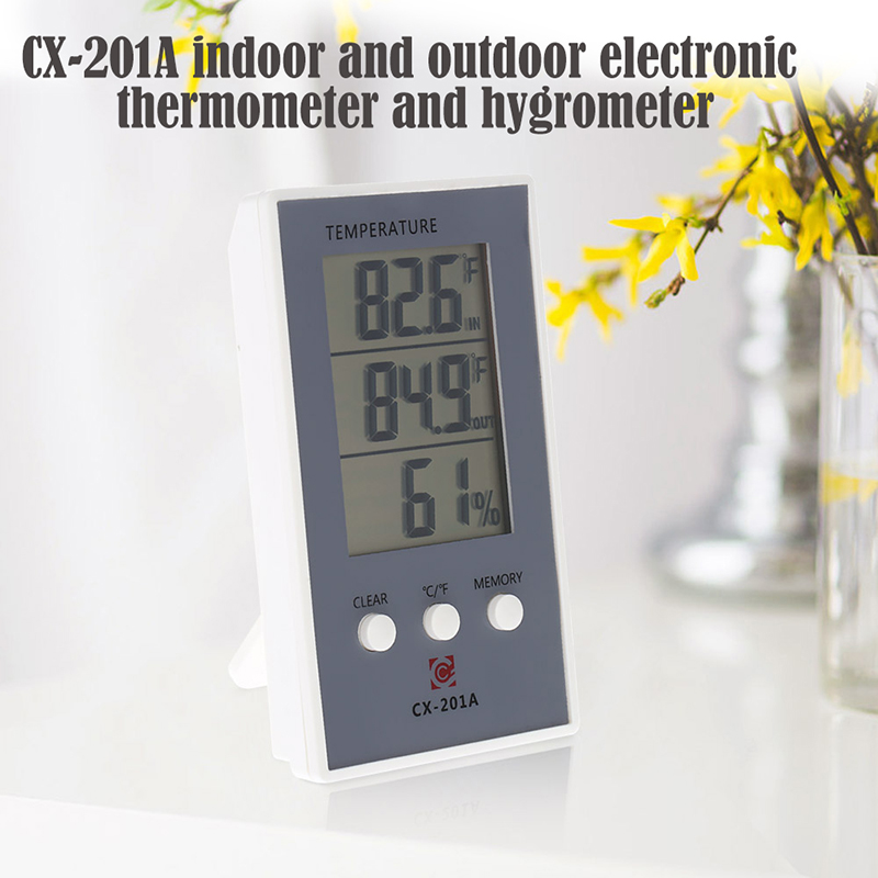 HOT Indoor and Outdoor Temperature Humidity Meter Digital Thermometer Hygrometer