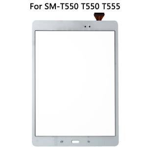 Image 3 - الأصلي لسامسونج غالاكسي تبويب E SM T550 T550 T555 شاشة إل سي دي باللمس شاشة الاستشعار الزجاج لوحة مرقمة T550 LCD لوحة اللمس
