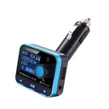 Digital Bluetooth FM Transmitter MP3 Player Handsfree Call Car Kit Support USB Flash TF Micro SD AUX Audio Music Player цена 2017