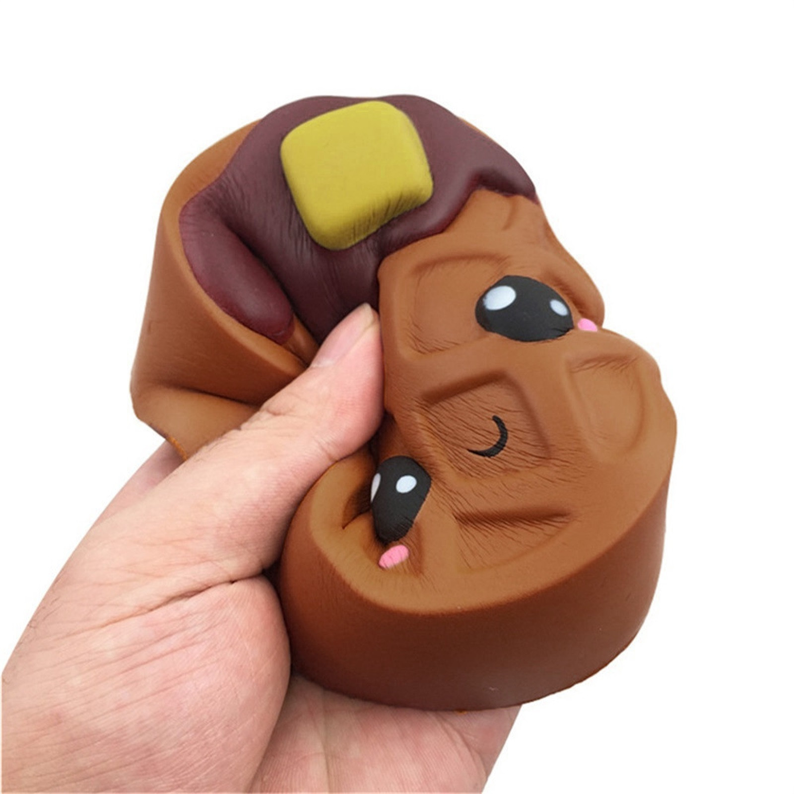 Gift Toy Fidget-Toys Biscuits Antistress-Gadget Chocolates Soft Squishy Cute Kawaii Decompression img4